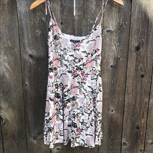NWT American Eagle Floral Print Mini Dress